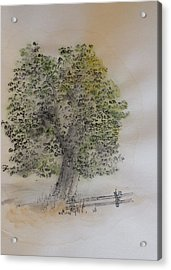 Mustard Seed  Garden Manuel For Western Eastern Artists Acrylic Print