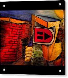 #my #art #drawing #abstract  #colors Acrylic Print