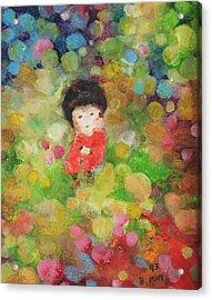 My Babe Acrylic Print by Becky Kim