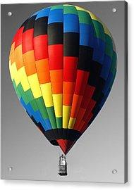 Acrylic Print featuring the photograph My Balloon   by Raymond Earley