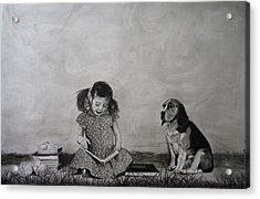 My Best Friend Acrylic Print