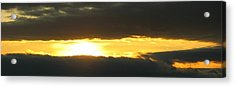 My Cloudy Sunset Acrylic Print