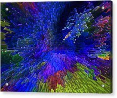 My Colorful World Acrylic Print