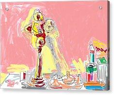 My Dresser Acrylic Print by Anita Dale Livaditis