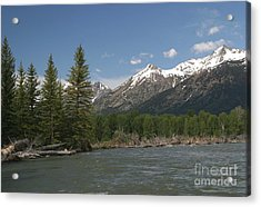 Acrylic Print featuring the photograph My Favorite Of The Grand Tetons by Living Color Photography Lorraine Lynch