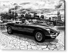 my friend Jag-E Acrylic Print by Joachim G Pinkawa
