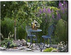 My Garden 3 Acrylic Print