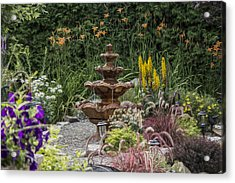 My Garden 9 Acrylic Print