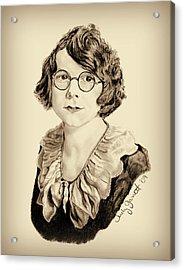 My Grandmother Stella  Acrylic Print by Judy Garrett