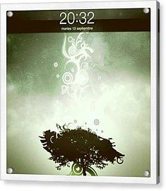 My Ipad 2 Background! :) Acrylic Print by Pablo Grippo