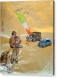 my Italian heritage Acrylic Print