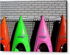 My Kayak Acrylic Print