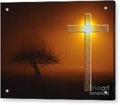 Acrylic Print featuring the photograph My Life In God's Hands 3 To 4 Ration by Clayton Bruster