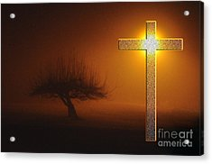 My Life In God's Hands Acrylic Print by Clayton Bruster
