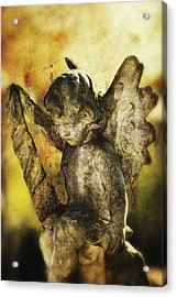 Acrylic Print featuring the digital art My Little Angel 02 by Kevin Chippindall