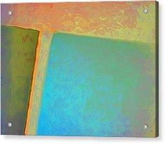 Acrylic Print featuring the digital art My Love by Richard Laeton