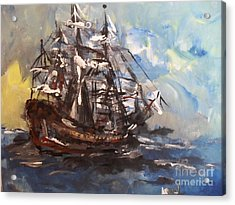 My Ship Acrylic Print