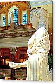 My Vegas Caesars 17 Acrylic Print by Randall Weidner