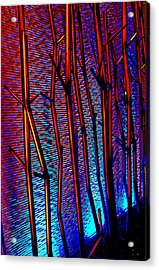 My Vegas Mandalay 4 Acrylic Print by Randall Weidner