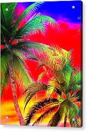 My Vegas Margaritaville 1 Acrylic Print