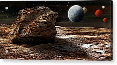 My View From Mars 2 Acrylic Print by Kaye Menner