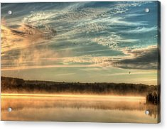 My View Of The World Acrylic Print by Gary Smith