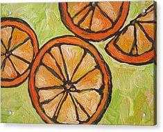 My Vitamin C Acrylic Print by Sandy Tracey