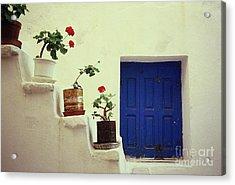 Acrylic Print featuring the photograph Mykonos by Ranjini Kandasamy