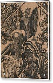 Mysterious Plot Acrylic Print