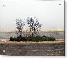 Mystery Island Acrylic Print by Kim Schmidt