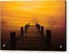 Mystic Dawning Acrylic Print by Kim Shatwell-Irishphotographer