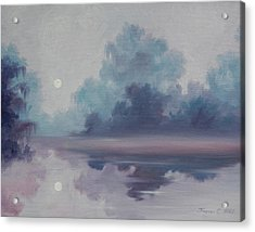 Mystic Moonlight Acrylic Print by James Christopher Hill