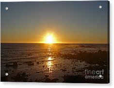 Mystic Sunset 2 Acrylic Print by Suze Taylor
