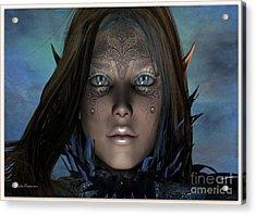 Acrylic Print featuring the digital art Mystikal by Sandra Bauser Digital Art