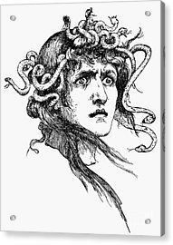 Mythology: Medusa Acrylic Print by Granger
