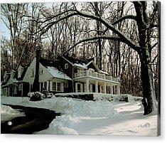N. C. Wyeth Home Acrylic Print by Gordon Beck
