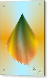 Acrylic Print featuring the digital art N5 by Leo Symon