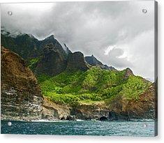 Na Pali Coast Hawaii 04 Acrylic Print