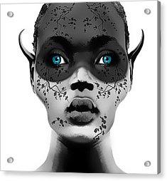 Naive Acrylic Print by Yosi Cupano