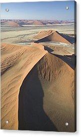 Namib Desert Acrylic Print by Unknown