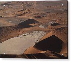 Namibia Aerial IIi Acrylic Print by Nina Papiorek