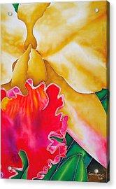 Nancy Smith Orchid Acrylic Print by Daniel Jean-Baptiste