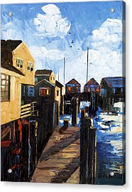 Nantucket Acrylic Print by Anthony Falbo
