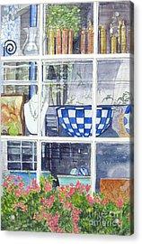 Nantucket Shop-lecherche Midi Acrylic Print by Carol Flagg