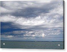 Nantucket Sound Sky Acrylic Print by Paul Donovan
