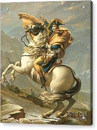 Napoleon Acrylic Print by Jacques Louis David