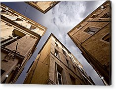 Narrow Streets Of Montpellier Acrylic Print by Evgeny Prokofyev