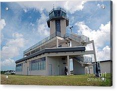 Nasa Air Traffic Control Tower Acrylic Print by Nasa