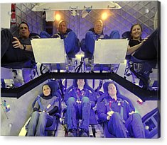 Nasa Astronauts And Industry Experts Acrylic Print by Everett