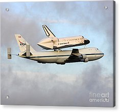 Acrylic Print featuring the photograph Nasa's Old Reliable - N905na by Alex Esguerra